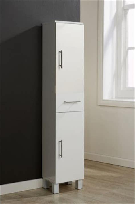 white gloss tall 2 door bathroom cabinet with 1 mirrored white bathroom tall cabinet 2 door 1 drawer gloss cupboard