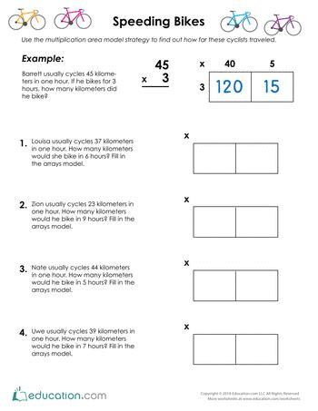 Area Model Multiplication Worksheets by 28 Division Using Area Model Worksheets Hunt