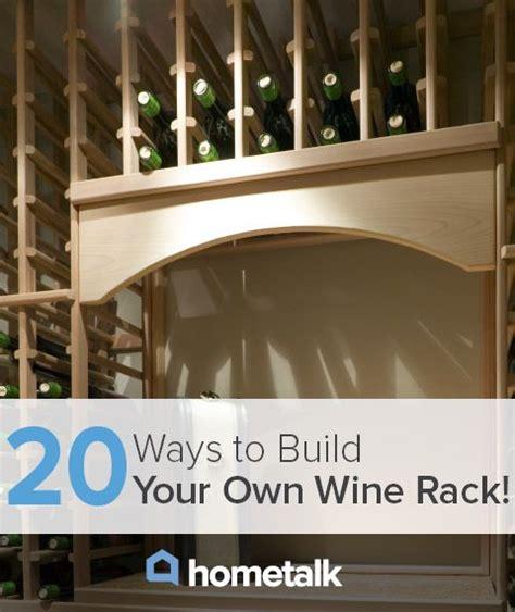 Wine Racks Build Your Own by Diy Wine Racks Rachelle F S Clipboard On Gardens