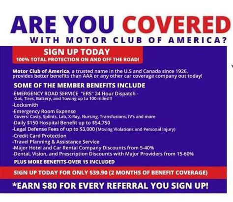motor club of america login is motor club of america a