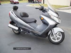 Automatic Suzuki 2006 Suzuki Burgman An400 Automatic Scooter Motorcycle 400