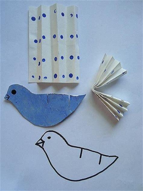how to make a paper bird group crafts craftbits com