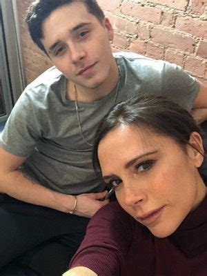 victoria beckham tattoo essex victoria and brooklyn beckham enjoy special mum and son
