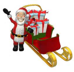 santa claus and gifts animated gifs gifmania