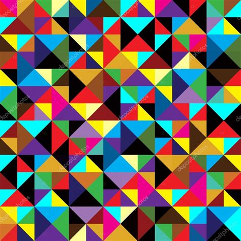 geometric pattern finder seamless geometric pattern with triangles stock vector