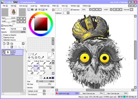 paint tool sai russian pack juiceskachat