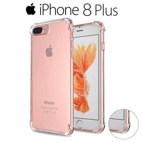 imagenes iphone 8 plus funda gel silicona transparente proteccion antigolpes para