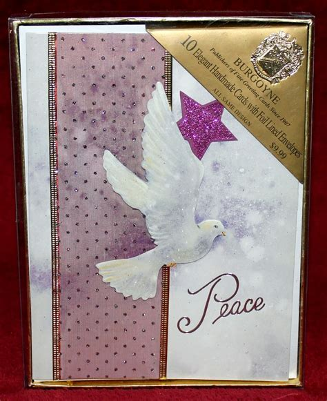 Burgoyne Handmade Cards - burgoyne 10 handmade cards with foil lined