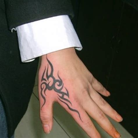 tribal finger tattoo 21 stylish side finger tattoos