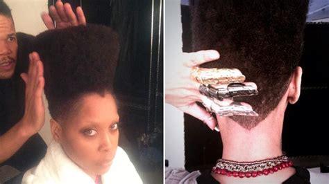Erykah Badu Hairstyles by Erykah Badu S New Haircut High And Faded