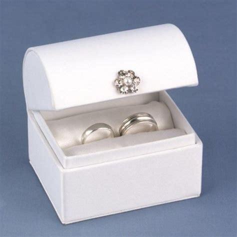 Ring Pillow Box by White Satin Ring Box Wedding Ring Pillow Alternative Ebay