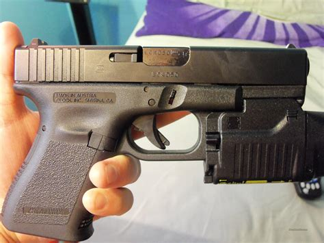 glock 19 light and laser glock 19 9mm with laser sight light and four hi for sale