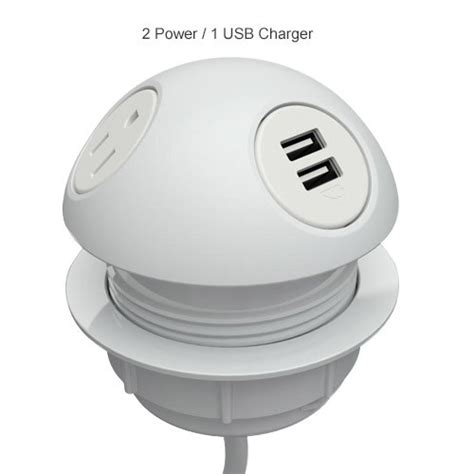 Desk L With Outlet And Usb by Hemisphere Power Charging Desk Outlet Cableorganizer