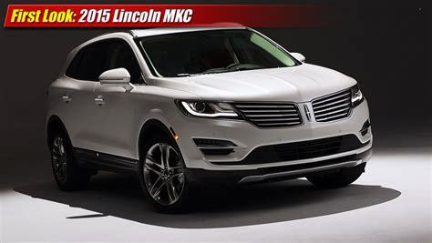 lincoln crossover 2015 look 2015 lincoln mkc luxury crossover suv