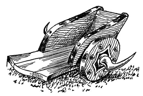 roman military chariot clipart