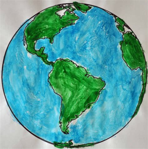 For The Of children s learning activities earth day painting