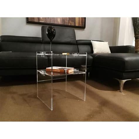 table de nuit plexiglas table plexiglas achat vente pas cher