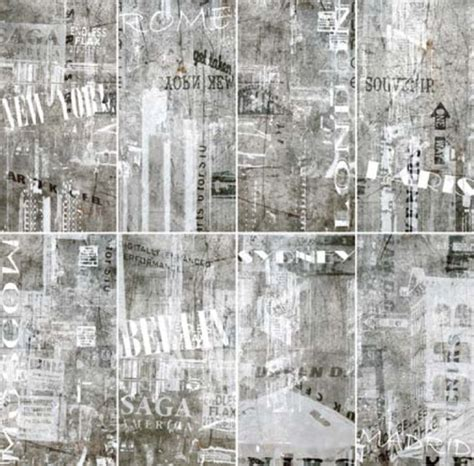 refin fliesen porcelain tiles graffiti collection from ceramiche refin