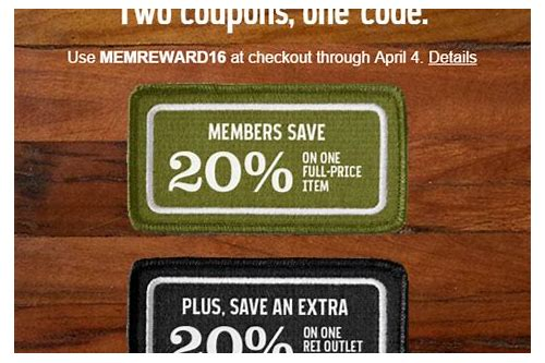 rei coupon codes february 2018