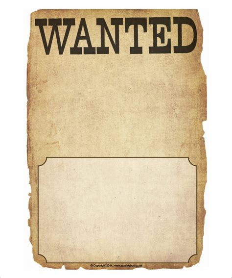 Wanted Poster Template 54 Free Printable Word Psd Free Wanted Poster Template