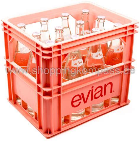 1 kasten wasser mineralwasser evian mineralwasser naturelle kasten 12 x