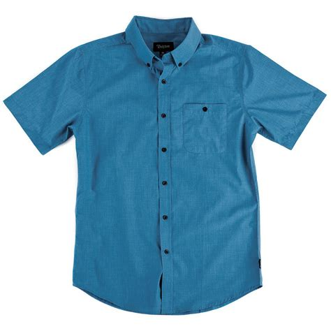 Sleeve Button Shirt brixton central sleeve button shirt evo outlet