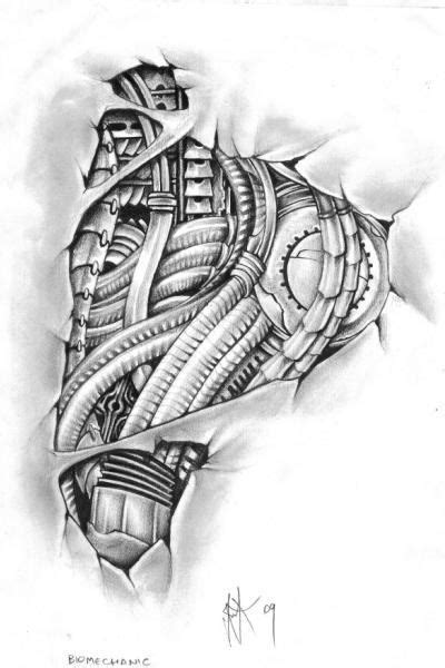 small biomechanical tattoos biomechanical stencils tattooic