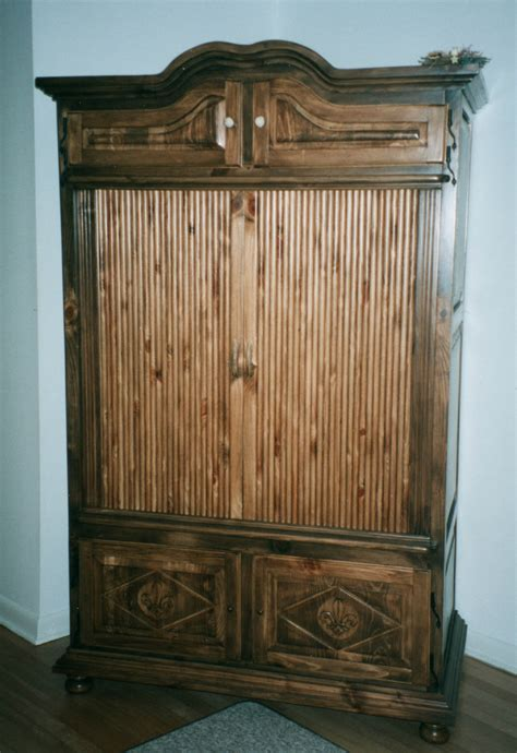 glass armoire furniture cabinets and cases