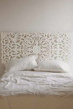 Boho Chic Headboards by Painted Wood Headboard On Mexican Furniture