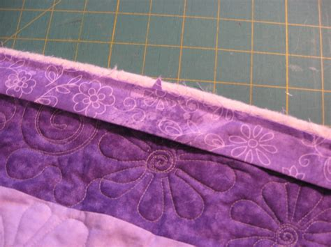 how to finish a binding just quilting