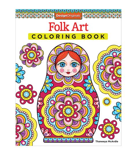 Folk Coloring Book folk coloring book coloring books jo