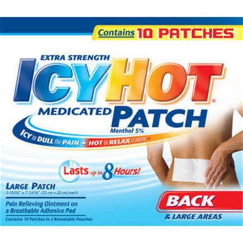 icy hot pads for your back icy hot medicated patch reviews viewpoints