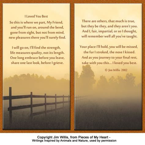 printable version of when tomorrow starts without me pet memorial cards for all seasons pinterest poem
