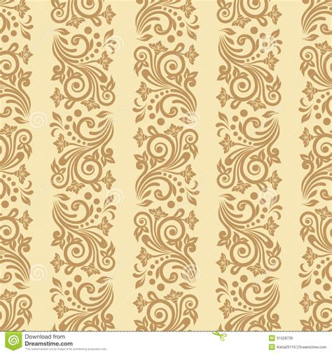 pattern retro vector vector vintage floral seamless pattern element royalty