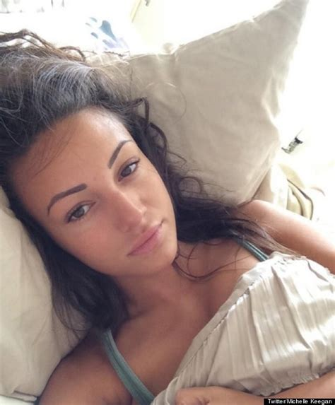 selfie in bed coronation street star michelle keegan hits back at