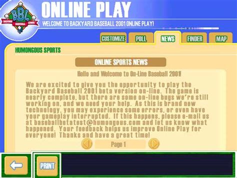 Play Backyard Baseball 2001 Free by Backyard Baseball 2001