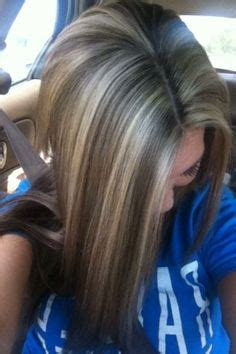 how to apply lowlights to grey hair pics of brown hair with highlights and quot lowlights quot hair