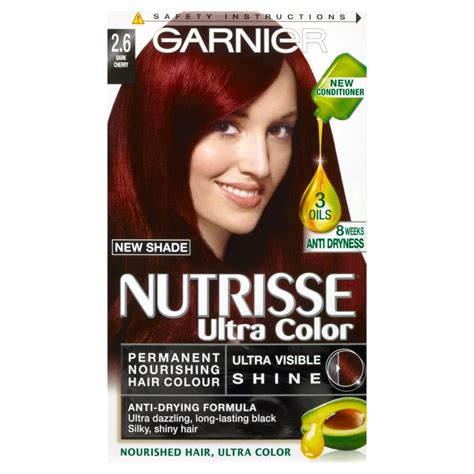 does nutrisse ultra colour dye have ppd in it garnier nutrisse ultra color 2 6 dark cherry red permanent