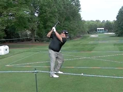 stewart cink swing kevin stadler pga tour slow motion iron shot 2012 wells