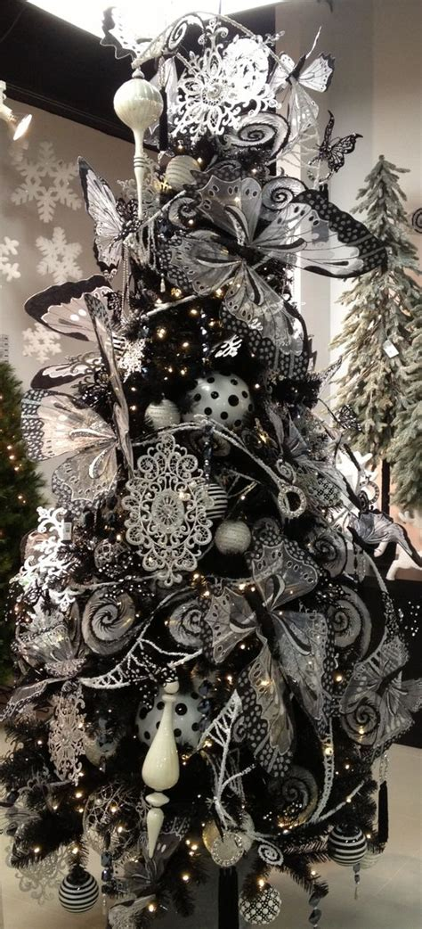 22 unique black christmas tree d 233 cor ideas digsdigs