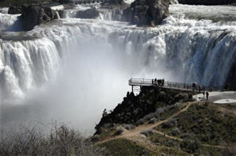russell travel adventures: shoshone falls in twin falls