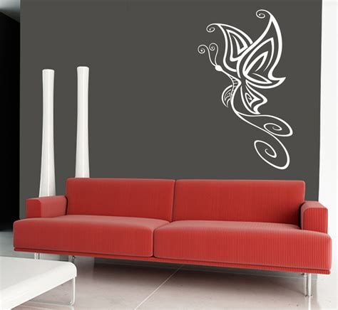 design wall art wall art sticker transfer bedroom lounge butterfly design