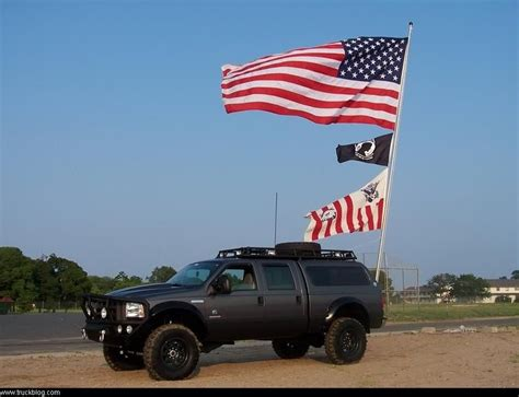 truck bed flag mount how to mount flag pole to bed of truck ford truck