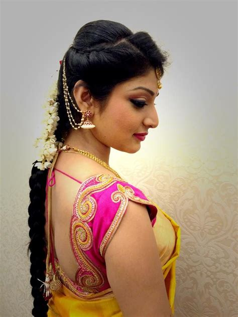 bridal hairstyles saree 457 best images about elegant saree blouses on pinterest