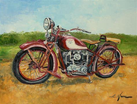 Motorrad Polieren by Sokol 1000 Motorcycle Painting By Luke Karcz
