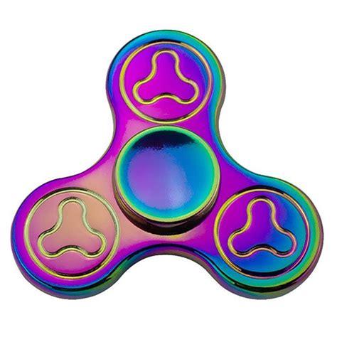 fidget spinner rainbow solid rainbow fidget spinner