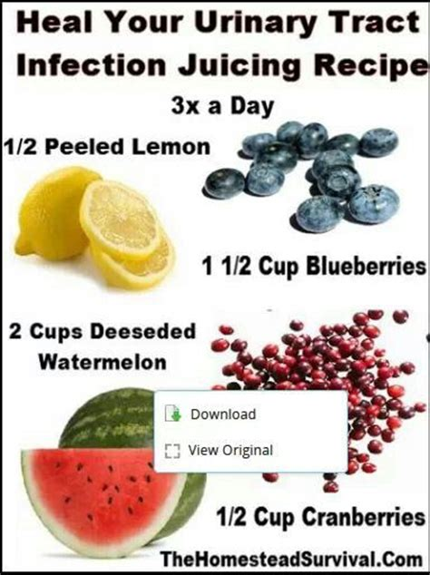 Diy Bladder Detox by Juice To Help With Urinary Tract Infection Juicing