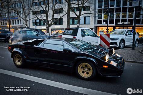 Lamborghini Quattrovalvole by Lamborghini Countach 5000 Quattrovalvole 7 Januar 2018