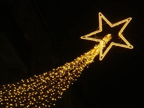 christmas shooting star lights shooting decoration decoration and