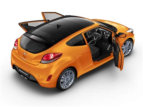 3 Door Car by Veloster 2 Door Style With 3 Door Access Hyundai Australia